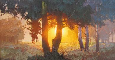 Виктор Александрович Быков – художник пейзажист (Россия)