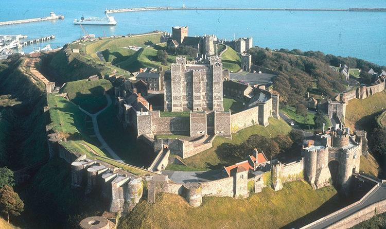 Дуврский замок(Dover Castle) – Великобритания