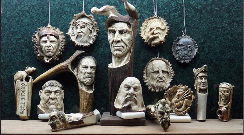 Андрей Сагалов (Andrei Sagalov) — скульптор, резчик (дерево, кость)