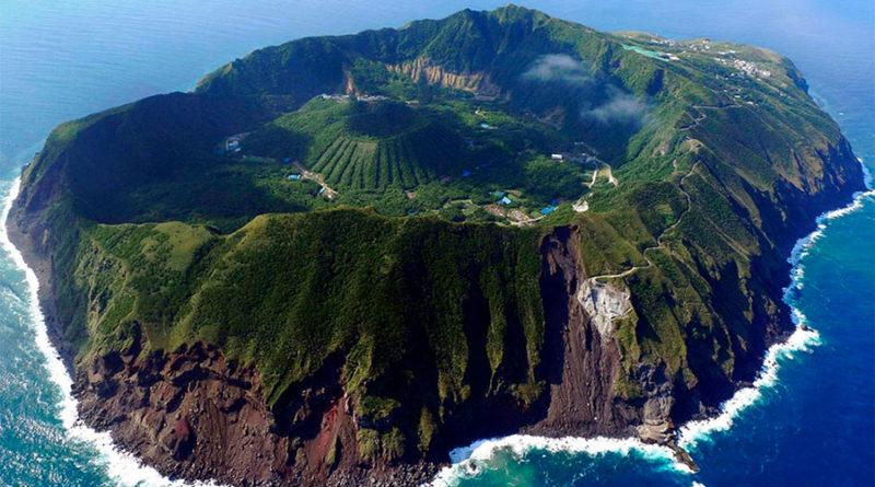 Аогасима (Aogashima) остров вулкан Япония