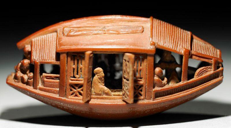 Искусство хайдао — резьба по фруктовым косточкам