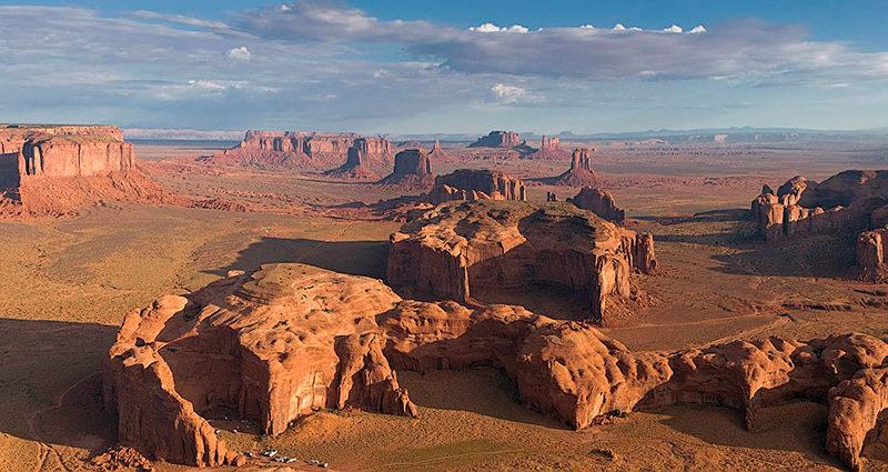 Долина монументов (Monument Valley) и Долина Богов