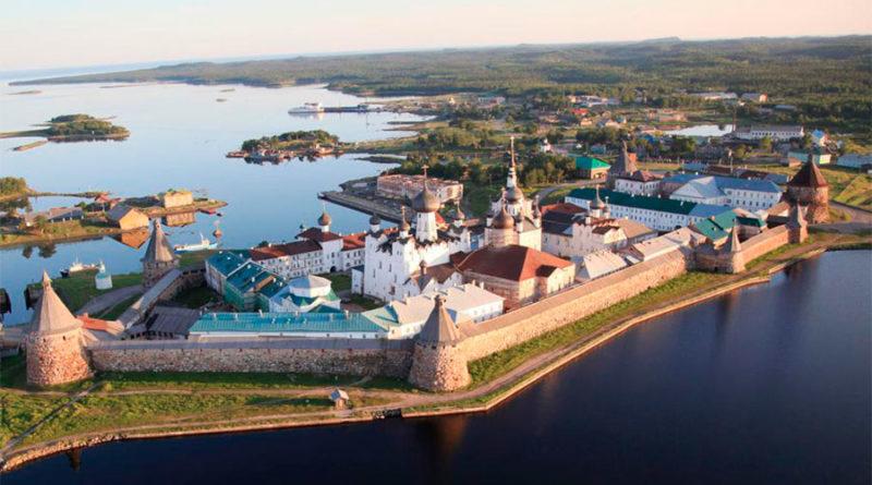 Соловецкие острова. Соловецкий монастырь, история