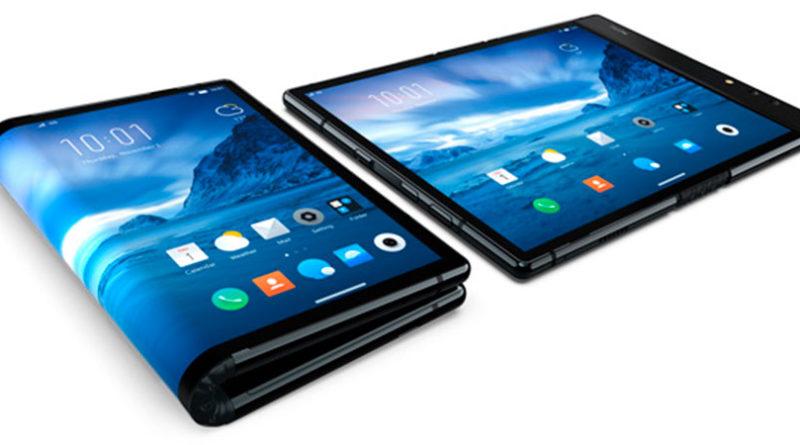 Создан первый в мире смартфон-планшет FlexPai с гибким экраном