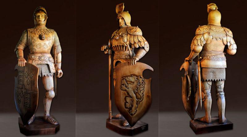 Владимир Ройок (Vladimir Royok) — скульптор, резчик, художник