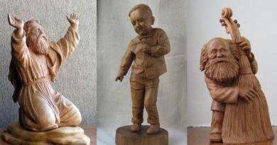 Владимир Цепляев (Vladimir Tseplyaev) - скульптор, резчик по дереву
