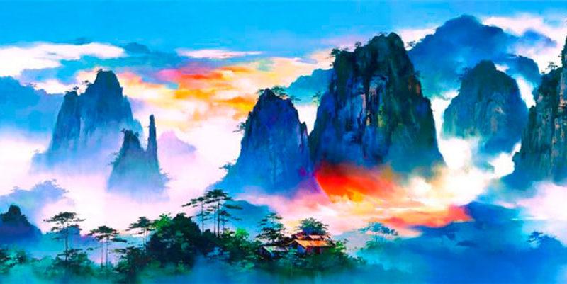 Неоимпрессионизм Кен Хонг Леунг