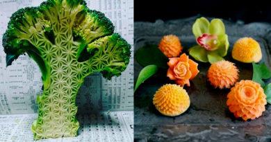 Gaku carving (Takehiro Kishimoto) — японский карвинг (Mukimono)