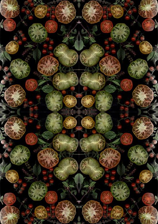 «Food Scans» («Сканирование еды»). Henry Hargreaves и Caitlin Levin