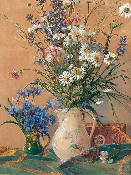 Густав Фейт (Gustav Feith) - художник