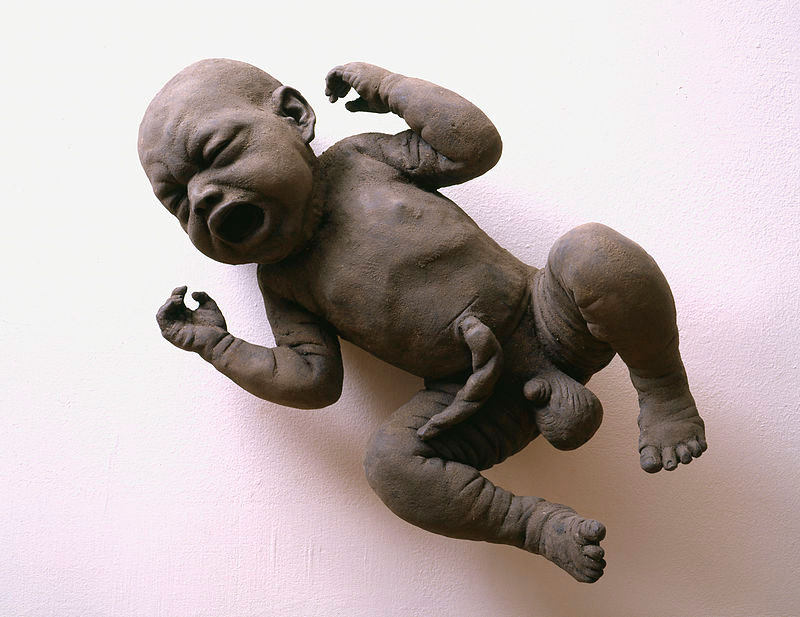 James Croak скульптура из серии Dirt baby