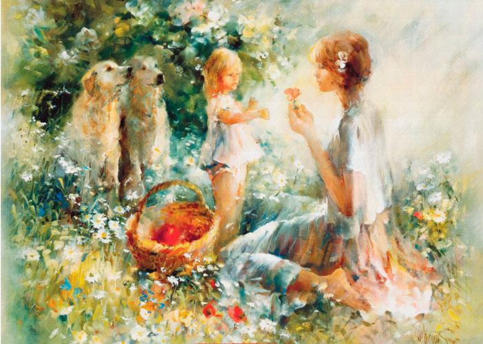 Вильем Хенритс (Willem Haenraets) - художник
