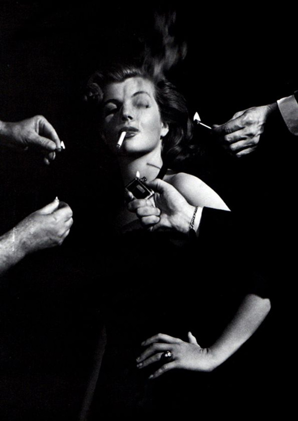 George Hurrell Corrine Calvet, 1948
