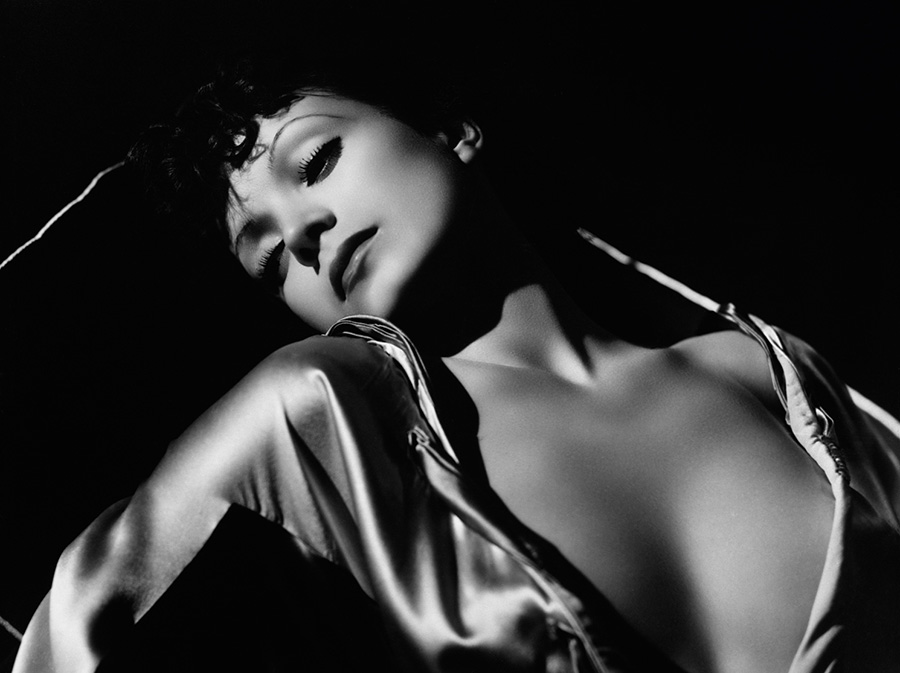 George Hurrell Carole Lombard