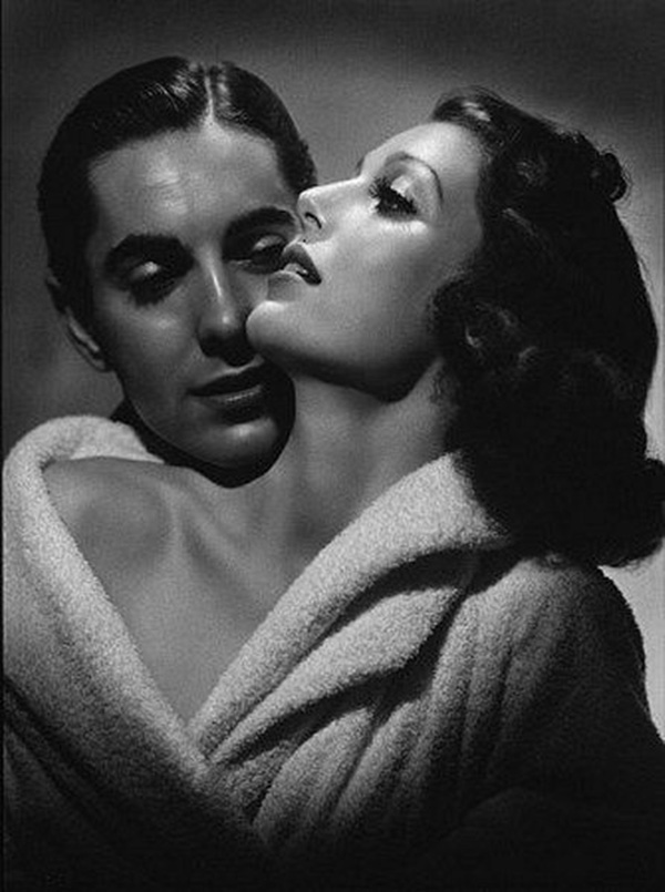George Hurrell Loretta Young Tyrone Power