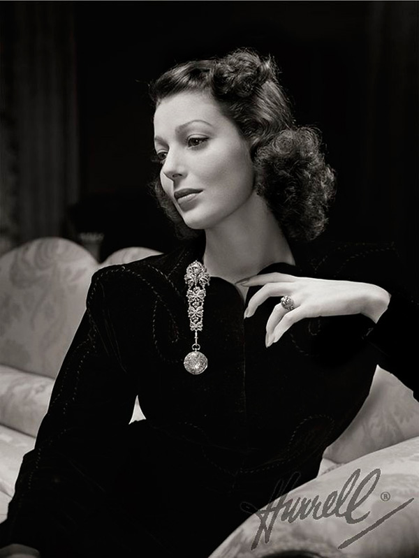 George Hurrell Loretta Young