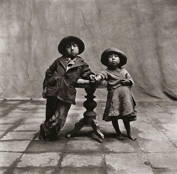 Дети из Куско, 1948 год Irving-Penn
