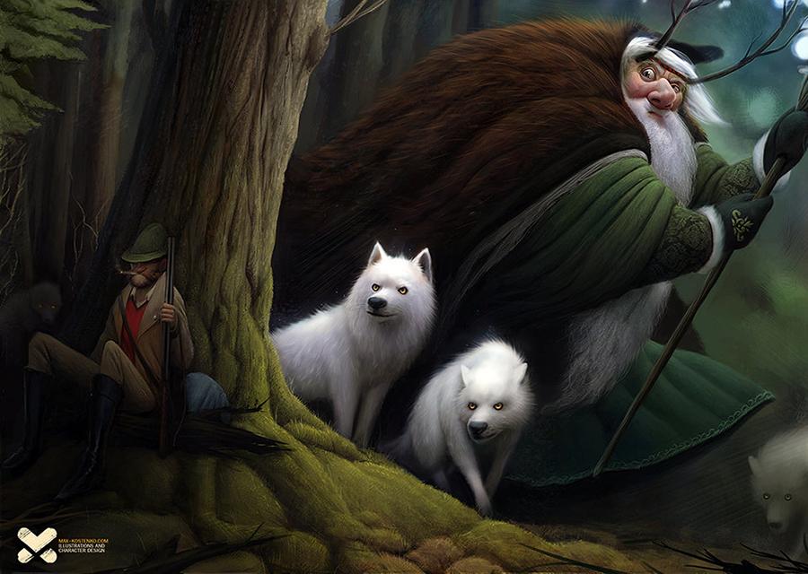 Макс Костенко (Max Kostenko) — иллюстратор, цифровой художник