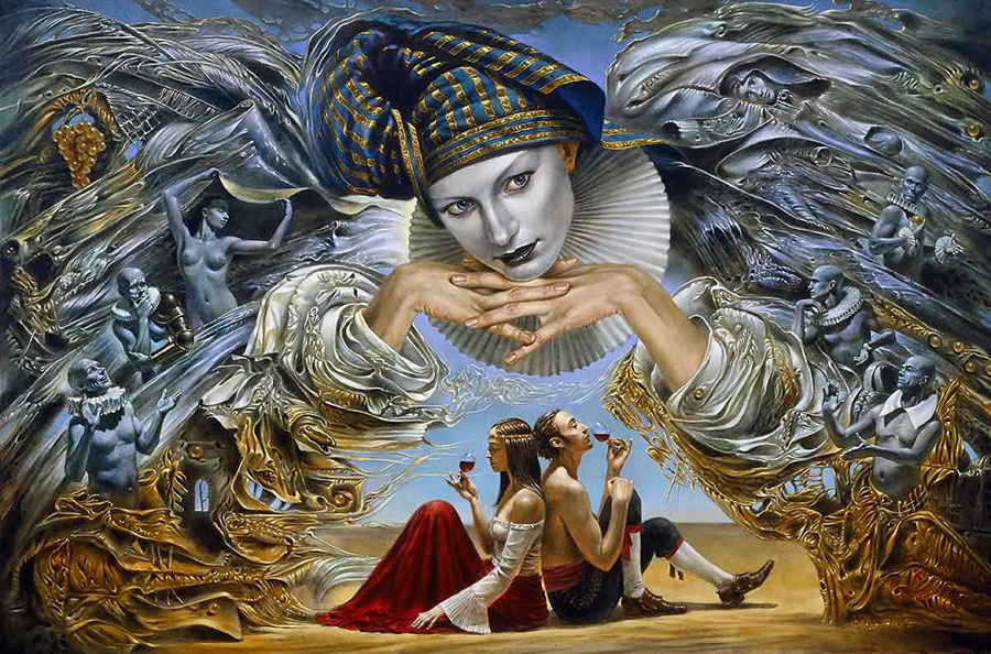 Михаил Шеваль (Michael Cheval) - художник сюрреалист