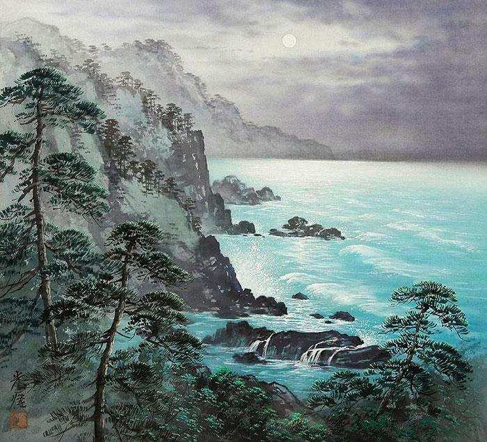 Коукеи Кодзима (Koukei Kojima) – художник-пейзажист