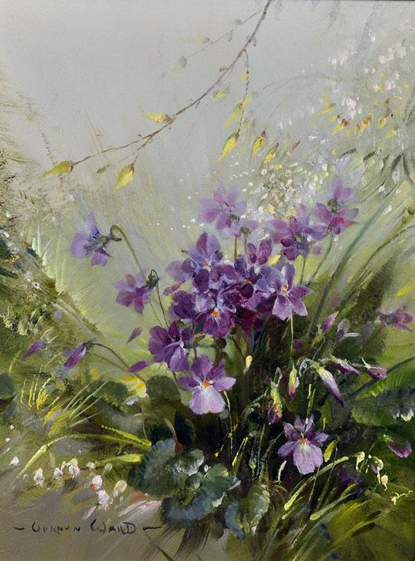 Вернон Уорд (Vernon Ward) - художник