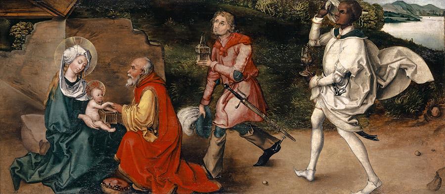 Альбрехт Дюрер. Поклонение волхвов, 1492-1494