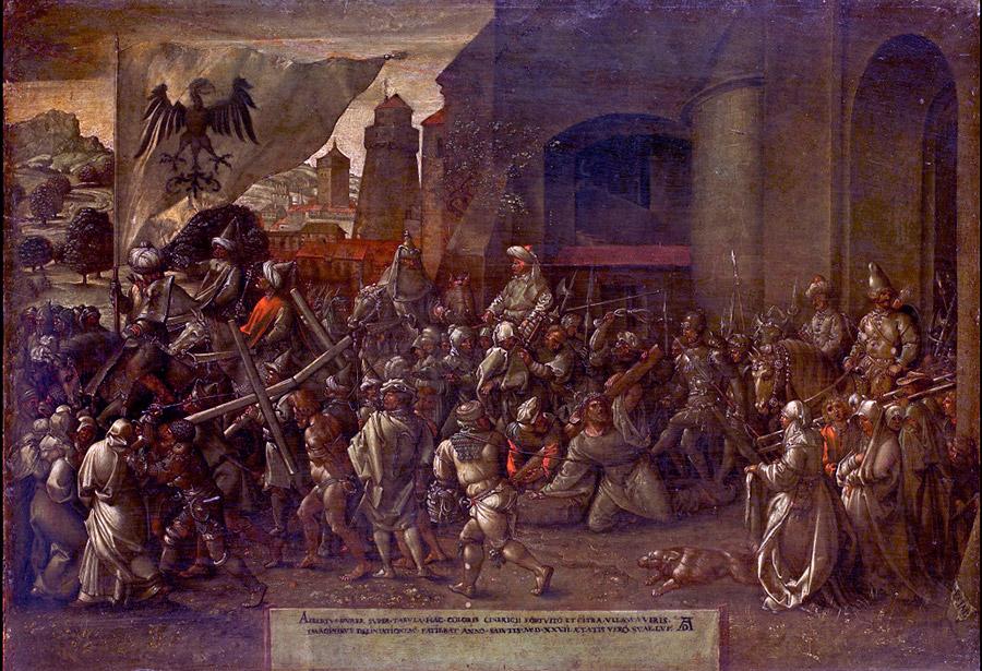 Альбрехт Дюрер. Путь на Голгофу, 1527