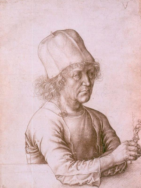 Портрет Альбрехта Дюрера старшего, 1486