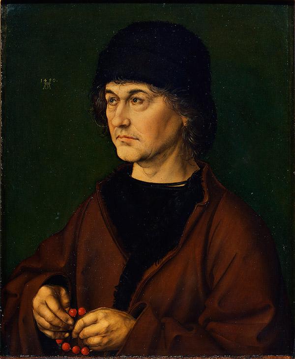 Портрет отца Дюрера, 1490