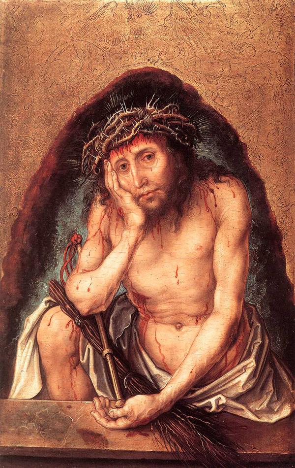 Альбрехт Дюрер. Человек скорби, 1493