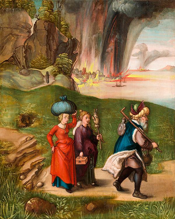 Альбрехт Дюрер. Лот и Его Дочери, 1496-1499