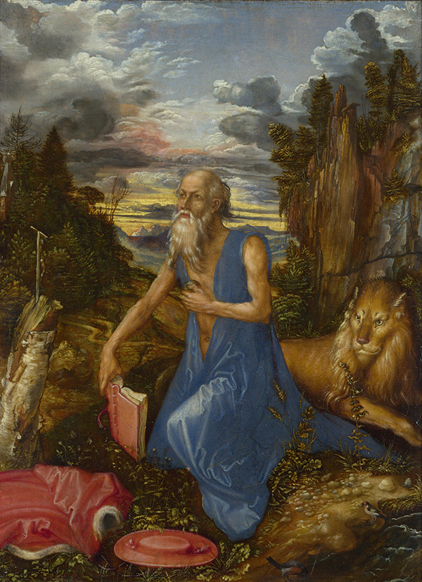 St Jerome in the Wilderness, 1496
