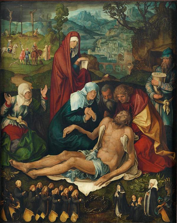 Альбрехт Дюрер. Плач, 1498