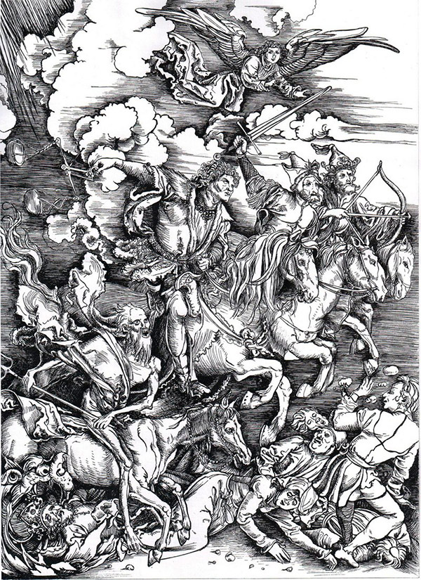 Альбрехт Дюрер. Четыре всадника Апокалипсиса, 1498