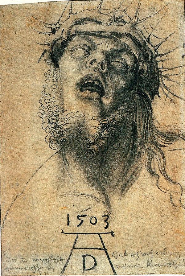 Альбрехт Дюрер. Спаситель в терновом венце, 1503