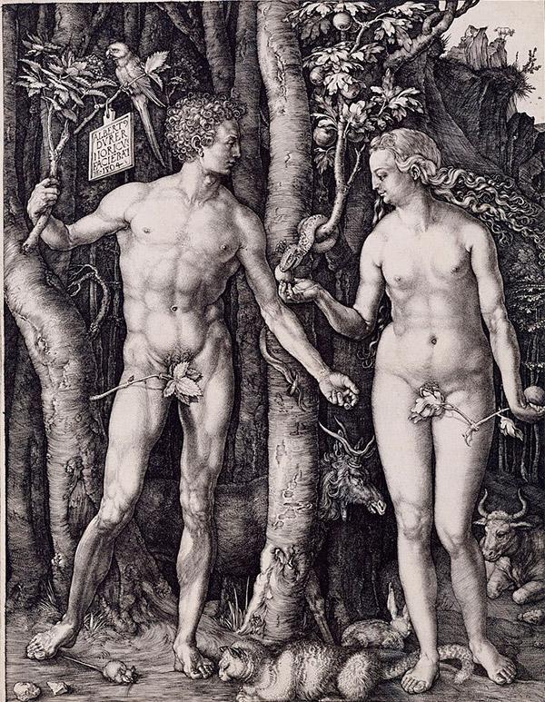 Альбрехт Дюрер. Adam and Eve, 1504