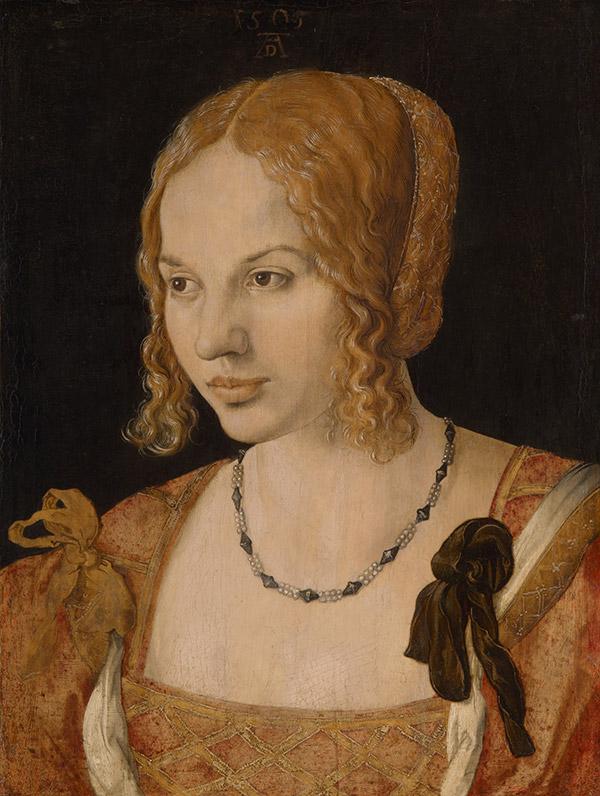 Альбрехт Дюрер. Портрет молодой венецианки, 1505