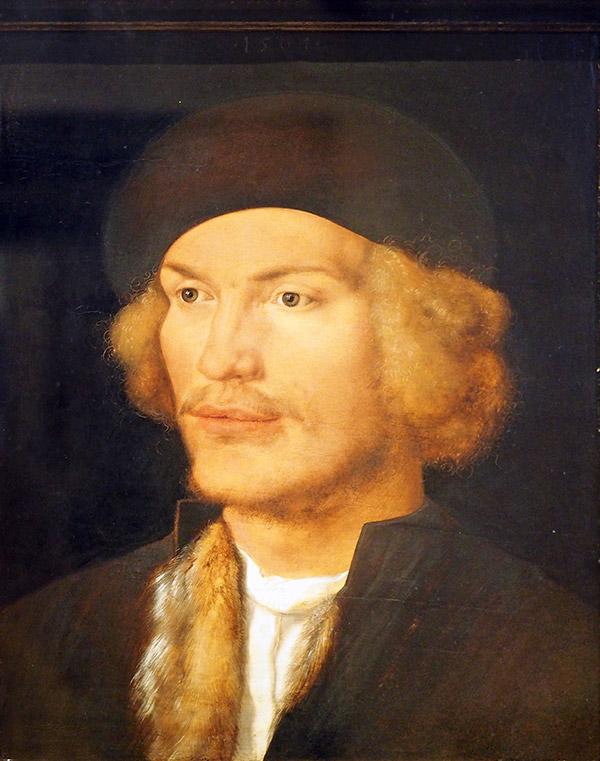 Альбрехт Дюрер. Портрет молодого человека,1506