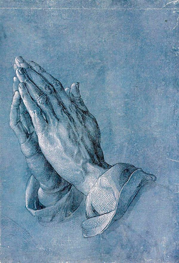 Альбрехт Дюрер. Руки молящегося (ок. 1508)