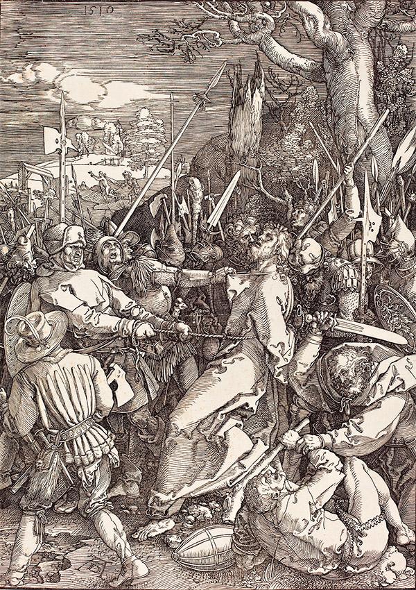 Альбрехт Дюрер. Взятие под стражу, 1510
