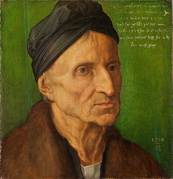 Альбрехт Дюрер. Портрет Михаэля Вольгемута, 1516
