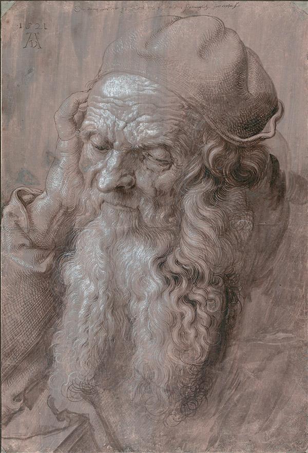 Альбрехт Дюрер. Голова старика, 1521