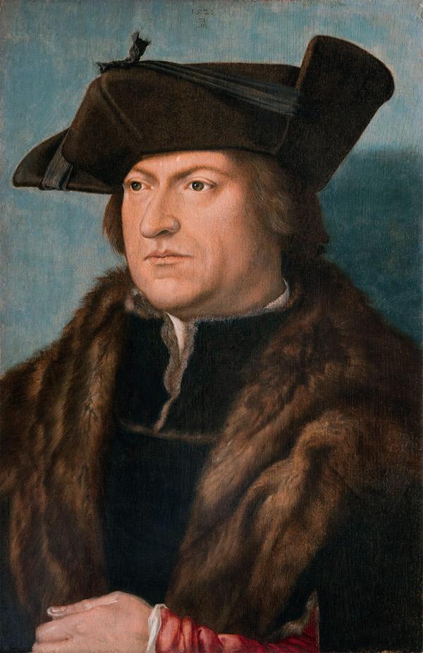 Альбрехт Дюрер - Человек в шубе, 1521