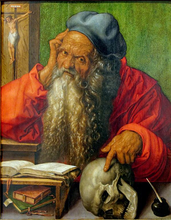 Альбрехт Дюрер. Святой Иероним в Своем кабинете, 1521