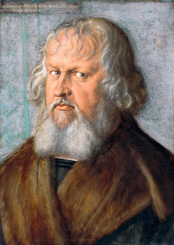 Альбрехт Дюрер. Портрет Иеронима Хольцшухера, 1526