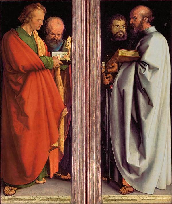Альбрехт Дюрер. Четыре апостола, 1526