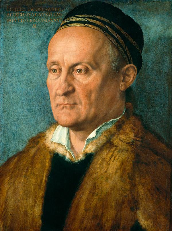 Альбрехт Дюрер. Портрет Якоба Маффеля, 1526