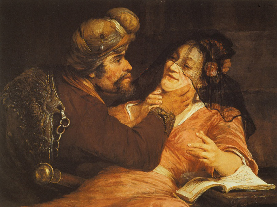 Арент де Гелдер (Arent de Gelder) Иуда и Тамар (1667)