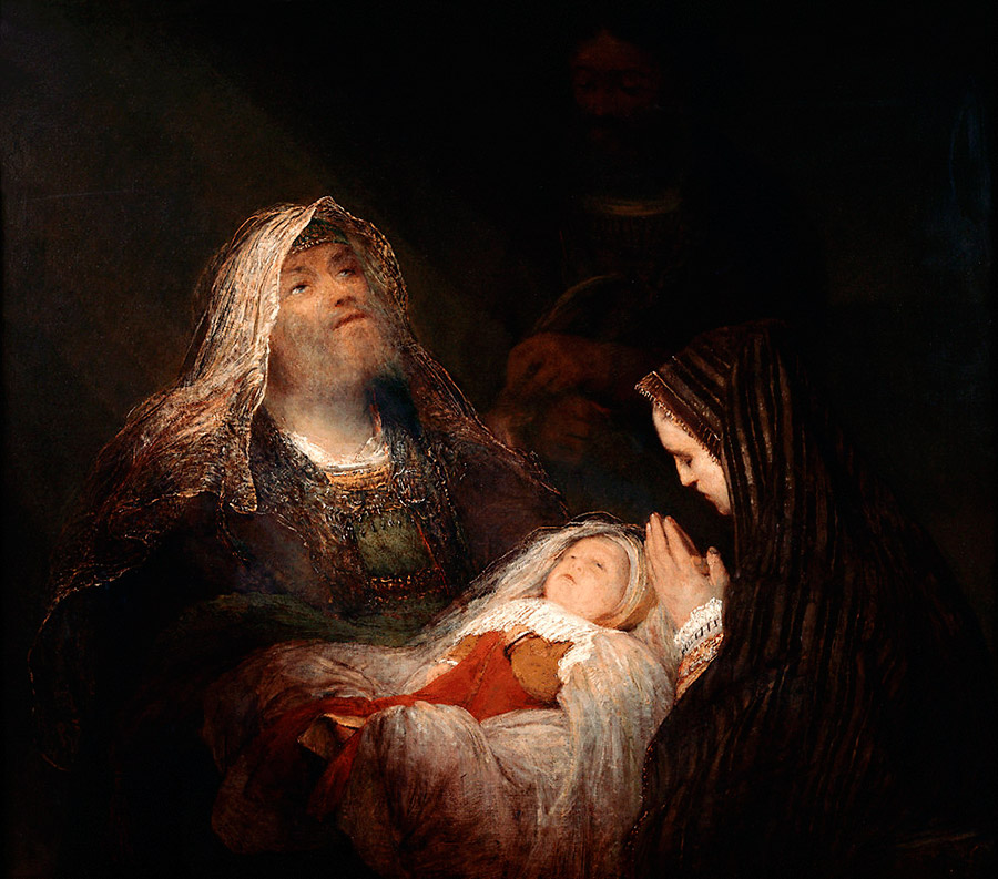 Хвалебная песнь Симеона., 1700-1710