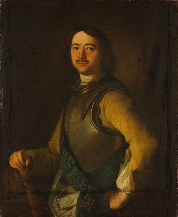 Арнольд де Гельдер Портрет Петра I, 1717